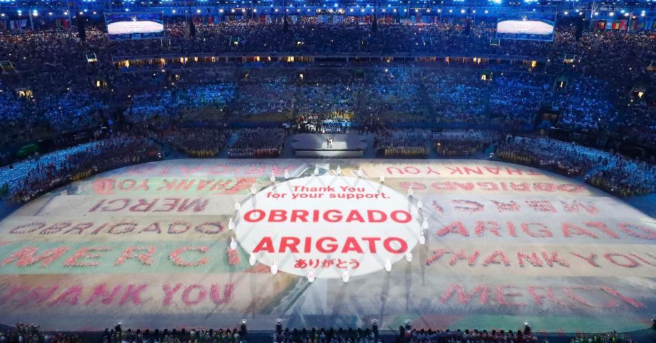Organização agradeceu o apoio dos torcedores em português e japonês. Tóquio sediará os Jogos de 2020