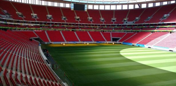 Orçadas em R$ 690 milhões, obras do estádio Mané Garrincha custaram R$ 1,575 bilhão
