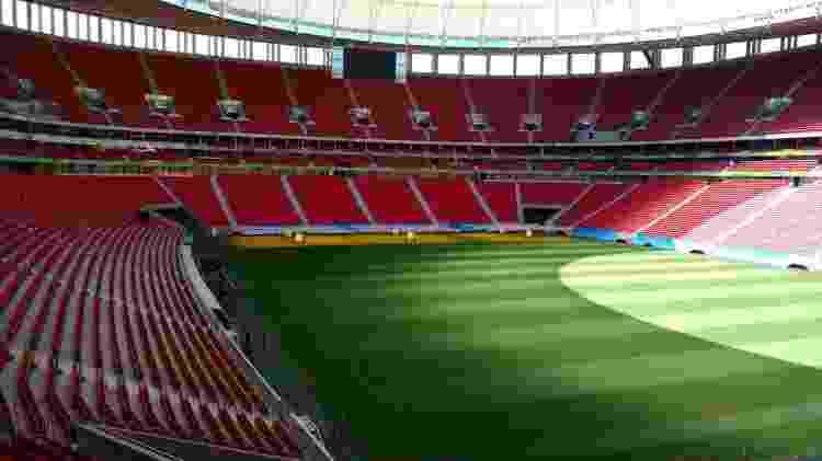 Estádio Mané Garrincha, em Brasília, foi palco do futebol na Olimpíada - Comitê Rio-2016 - Comitê Rio-2016