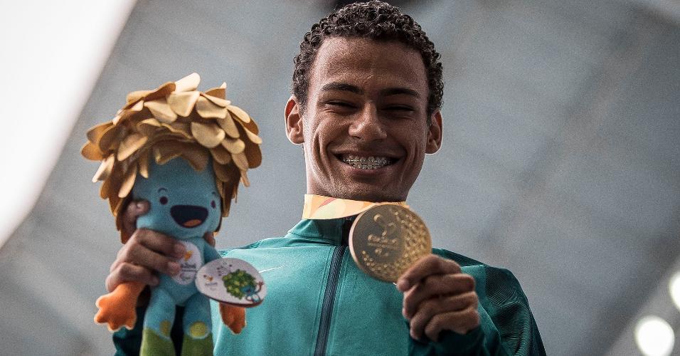 Campeão paraolímpico, Daniel Martins teve como inspiração música do rapper Projota