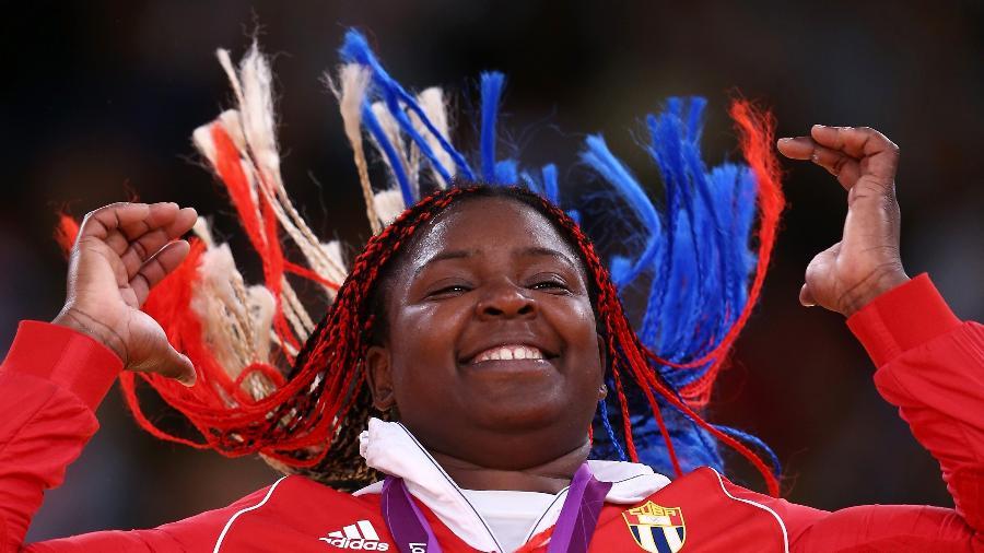 Idalys Ortiz foi bronze em Pequim 2008, ouro em Londres 2012 (foto) e prata no Rio 2016 - Quinn Rooney/Getty Images