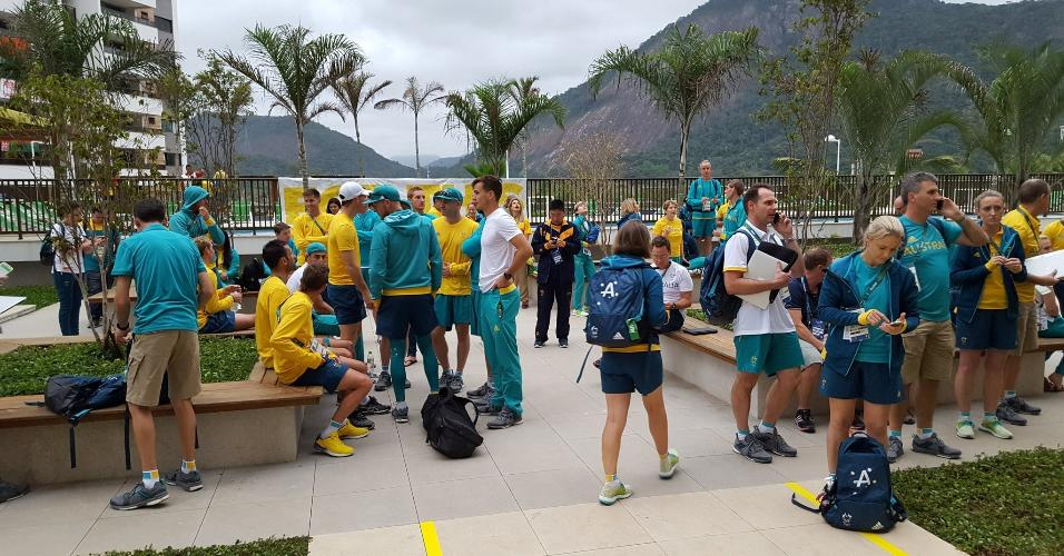 Delegação da Austrália foi evacuada de prédio após princípio de incêndio