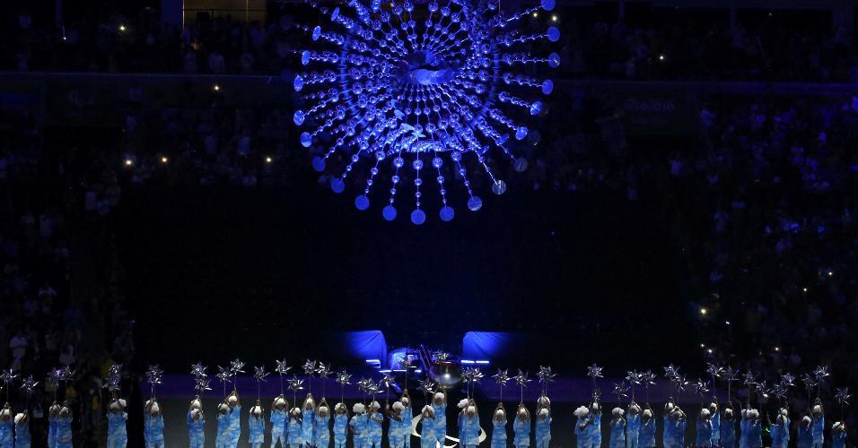 Pira paraolímpica foi apagada no Maracanã