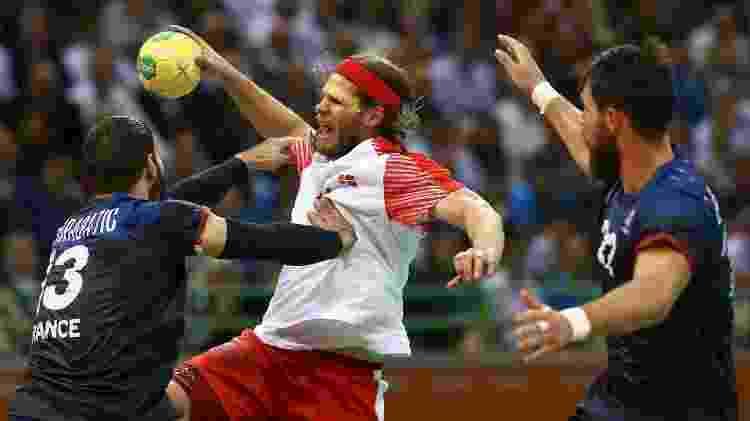 França e Dinamarca se enfrentaram neste domingo pelo ouro na final do handebol - REUTERS/Damir Sagolj - REUTERS/Damir Sagolj