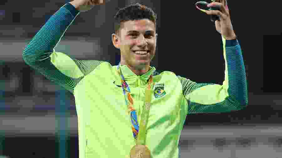 Thiago Braz terá Usain Bolt como rival no prêmio de melhor do ano - REUTERS/Sergio Moraes