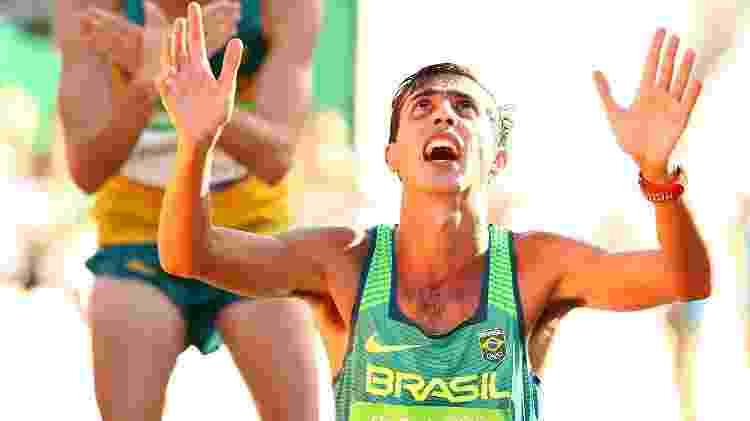 Caio Bonfim chegou em 4º lugar na disputa de 20 km da marcha atlética - Ryan Pierse/Getty Image - Ryan Pierse/Getty Image