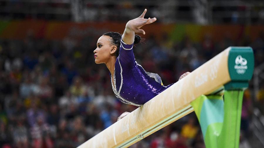 Rebeca Andrade é uma das atletas que pode ser afetada pela situação - Reuters