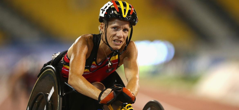 Marieke Vervoort conquistou o ouro nos Jogos Olímpicos de Londres - Francois Nel/Getty Images