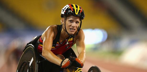 Marieke Vervoort conquistou o ouro nos Jogos Olímpicos de Londres