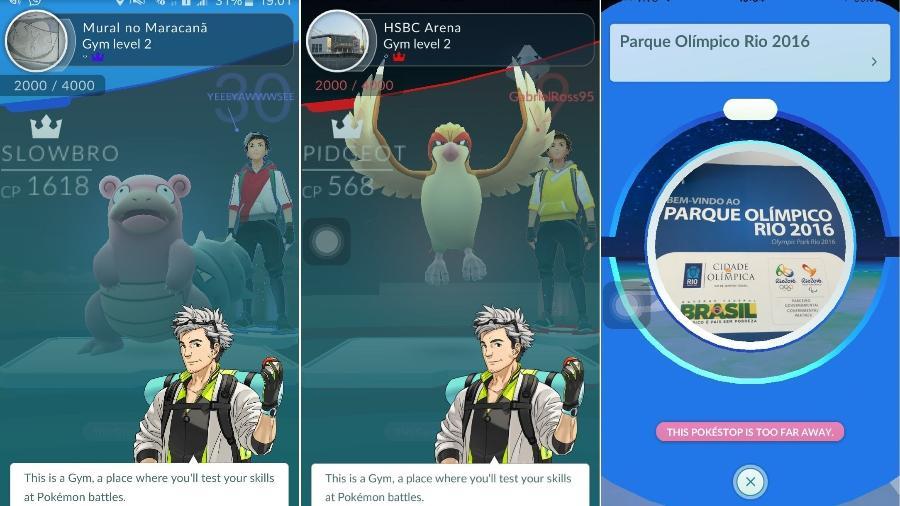 dab3e87487 Pokémon Go chega ao Brasil e mania invade instalações olímpicas - 03 ...