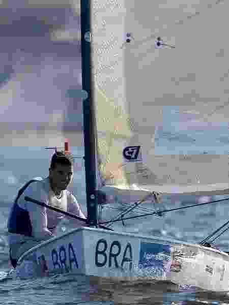 Jorge Zarif participa de evento-teste das Olimpíadas do Rio na classe Finn da vela - Getty Images