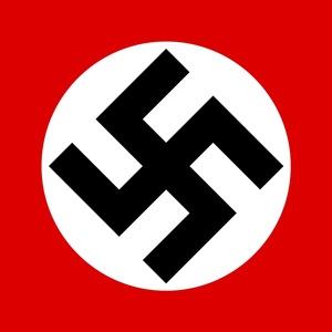 Suástica é símbolo nazista