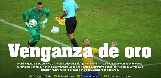 7822615739 Imprensa estrangeira destaca Neymar e vitória do Brasil