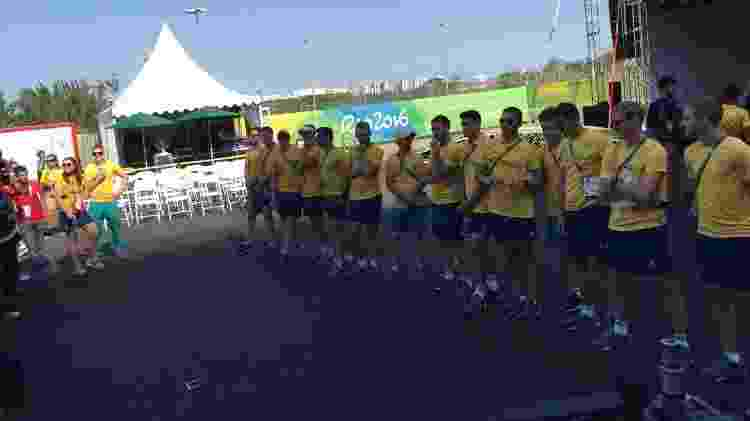 Austrália Vila Olímpica - Bruno Doro/UOL - Bruno Doro/UOL