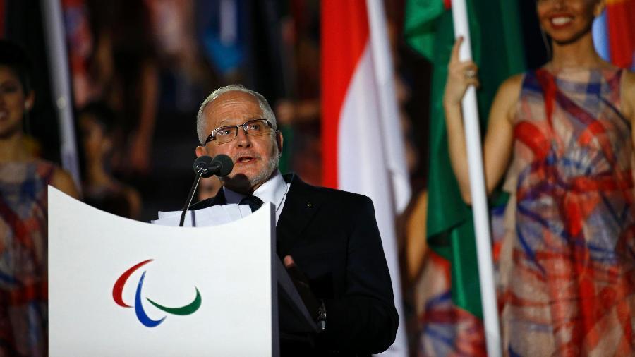 Philip Craven, presidente do Comitê Paralímpico Internacional - REUTERS/Ricardo Moraes