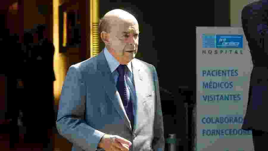 Dornelles também era o governador em exercício quando o Rio entrou em estado de calamidade financeira, em 2016 - Gabriel de Paiva/Ag. O Globo