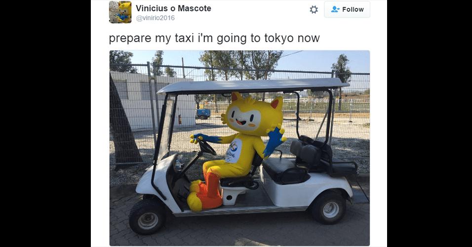 Vinícius tem carteira de motorista