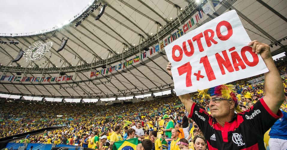 Torcedor brasileiro não esquece 7 a 1 aplicado pela Alemanha no Brasil na Copa do Mundo de 2014