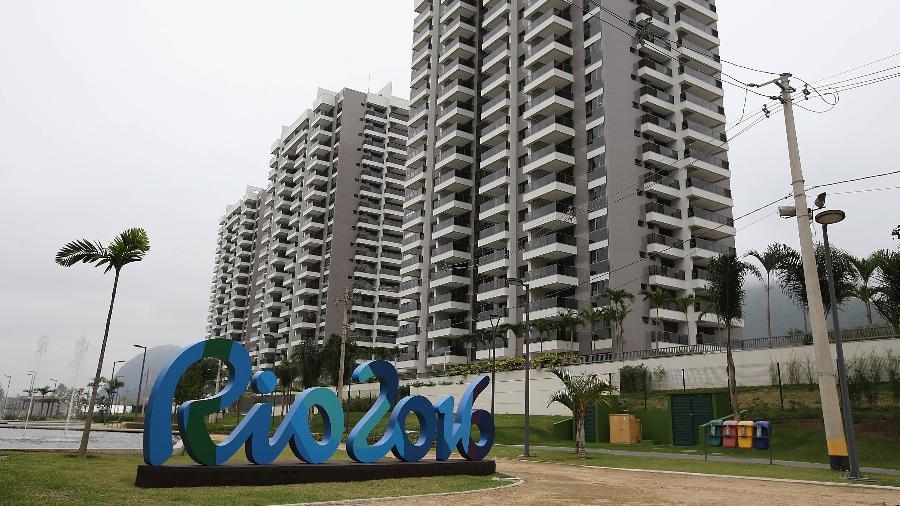 Vista da Vila Olímpica da Rio-2016 pouco antes do início dos Jogos - Julio Cesar Guimaraes/UOL