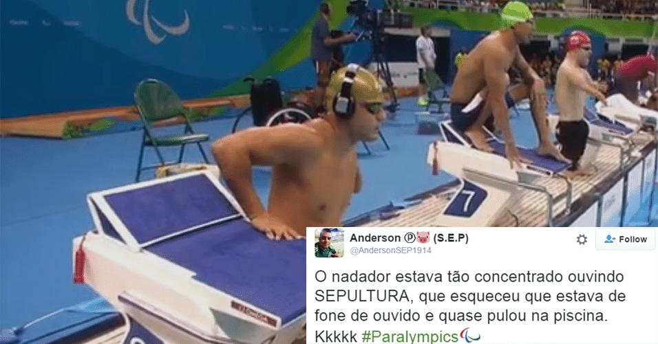 A Paraolimpíada fez chorar, mas também fez rir. Como não se identificar com o nadador esloveno Darko Duric?