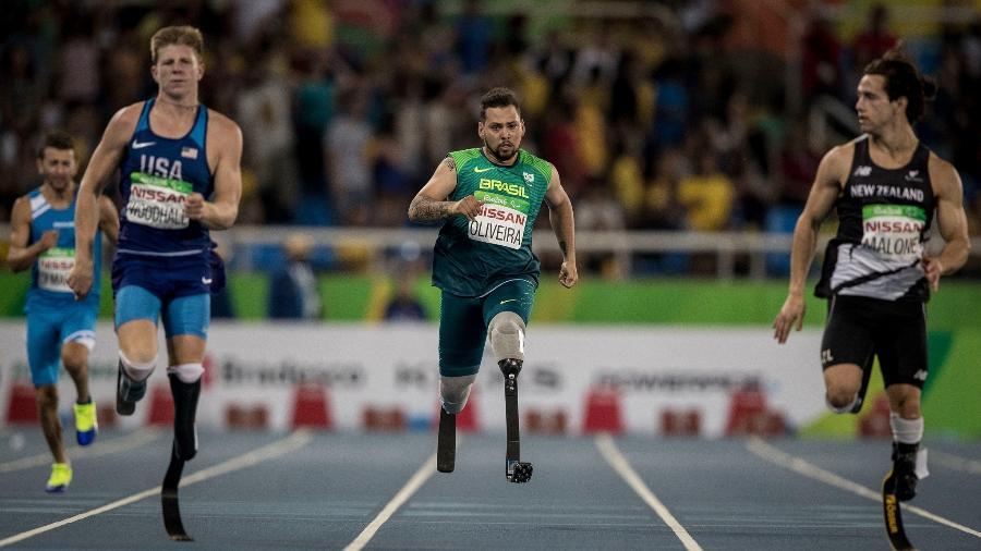 Alan Fonteles, campeão mundial e paralímpico de atletismo - Daniel Zappe/MPIX/CPB