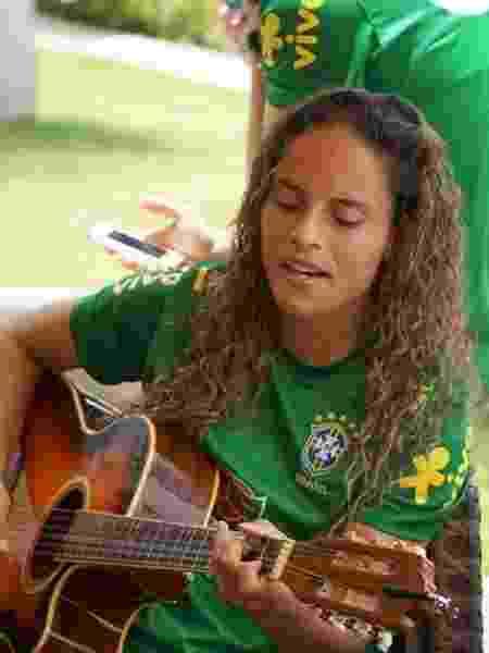Mônica, zagueira da seleção brasileira de futebol feminino - Arquivo Pessoal/Facebook - Arquivo Pessoal/Facebook