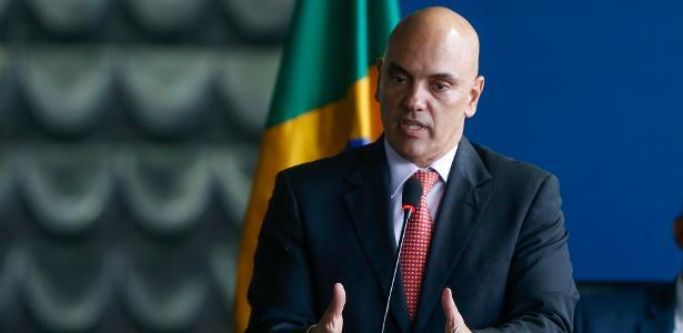 O ministro Alexandre de Moraes conversou com o governador do Amazonas