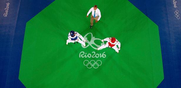 Duelo do taekwondo nas Olimpíadas do Rio - Reuters