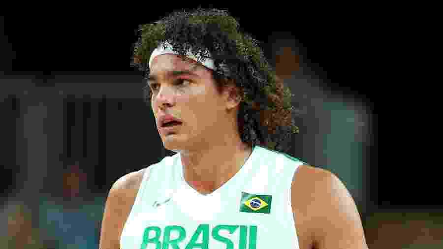 Anderson Varejão, pivô da seleção brasileira de basquete - Christian Petersen