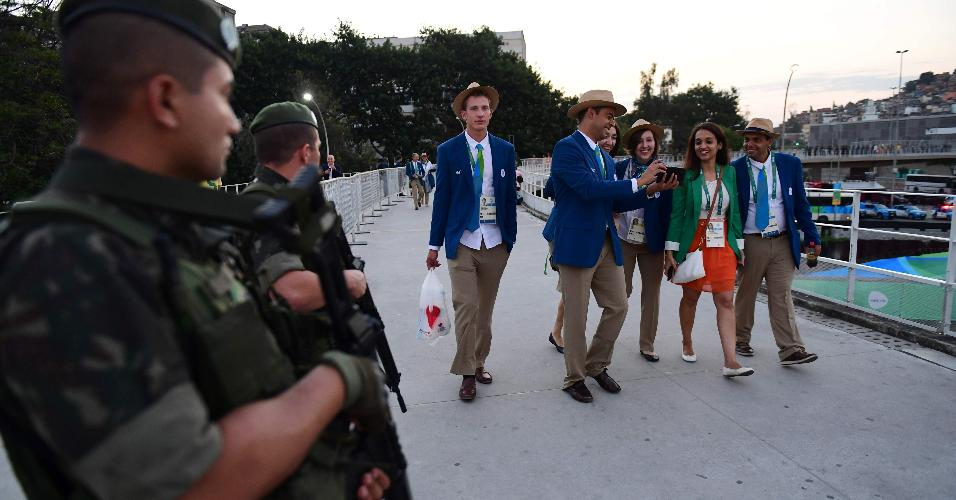Oitenta e cinco mil agentes participam da segurança dos Jogos