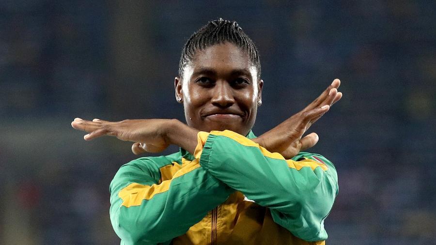 IAAF quer limitar quantidade de testosterona em corredoras; na África do Sul, medida é vista como perseguição a Caster Semenya - Patrick Smith/Getty Images