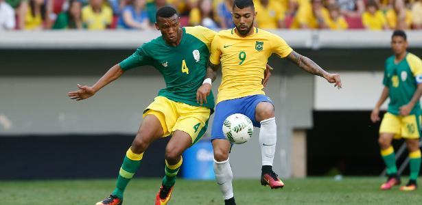 Gabigol em ação na Rio-2016; quatro clubes querem o atacante do Santos