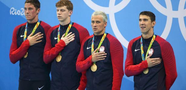 Michael Phelps e Ryan Lochte competem juntos há mais de uma década - REUTERS/Marcos Brindicci