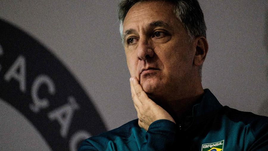 Marcus Vinicius Freire em 2016, ainda como diretor do Comitê Olímpico Brasileiro - AFP PHOTO / YASUYOSHI CHIBA