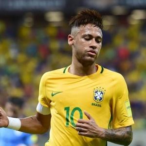 """Neymar estará nesta terça-feira no """"Programa do Jô"""" - AFP PHOTO / CHRISTOPHE SIMON"""