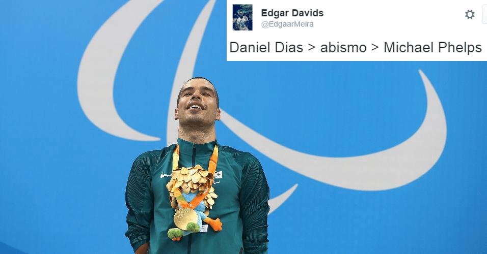"""Daniel Dias, o """"Michael Phelps brasileiro"""", fez o que se esperava dele"""