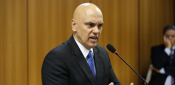 Ministro da Justiça, Alexandre de Moraes, tem sido alvo de críticas por causa da crise no sistema penitenciário