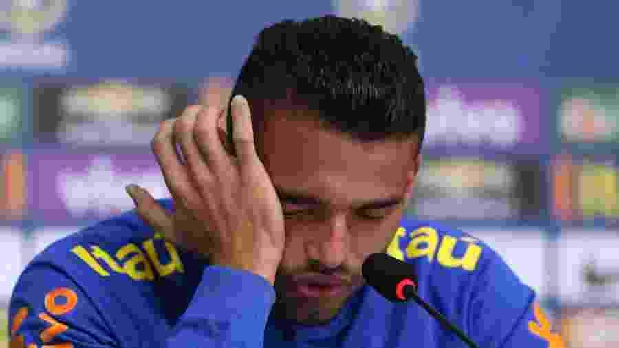 Volante cita até passagem pela seleção brasileira para justificar problemas físicos - Lucas Figueiredo/MoWa Press
