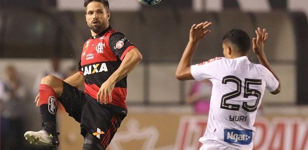 Flamengo se classificou após perder por 4 a 2 para o Santos