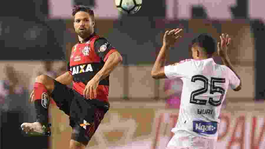 Flamengo se classificou após perder por 4 a 2 para o Santos - RICARDO MOREIRA/FOTOARENA/ESTADÃO CONTEÚDO