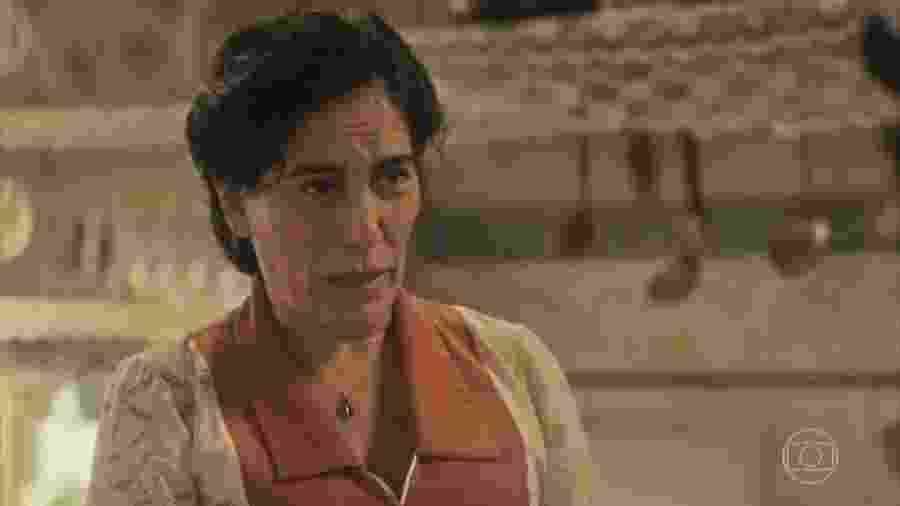 Lola (Gloria Pires) em Éramos Seis (Reprodução) - Reprodução