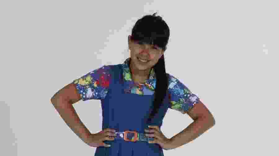 Cinthia Cruz como Cris em Chiquititas (Lourival Ribeiro / SBT) - Reprodução / Internet