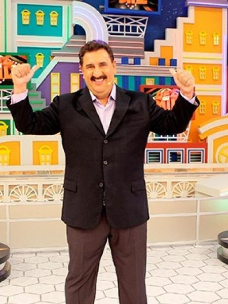 O apresentador Ratinho                              - SBT