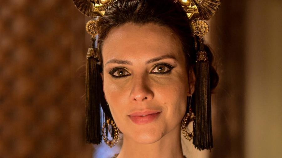 Camila Rodrigues como Nadi em Gênesis (Blad Meneghel / Record TV) - Reprodução / Internet