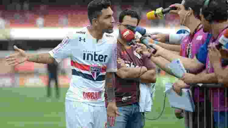 Petros foi um dos que ficaram mais irritados com a arbitragem - Antônio Cícero/Photopress/Estadão Conteúdo - Antônio Cícero/Photopress/Estadão Conteúdo