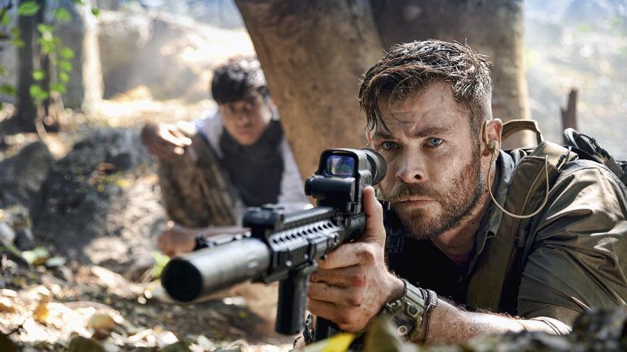 Diretor de Resgate admite problema na escalação de Chris Hemsworth - Reprodução / Internet