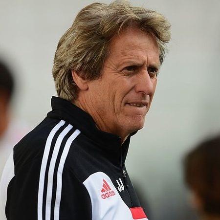 Jesus quando estava à frente do Benfica - Getty Images
