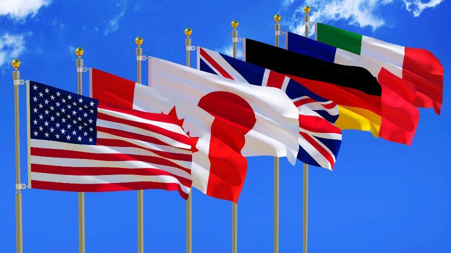 G7 busca unidade contra China no 1° encontro desde início da pandemia - Shutterstock