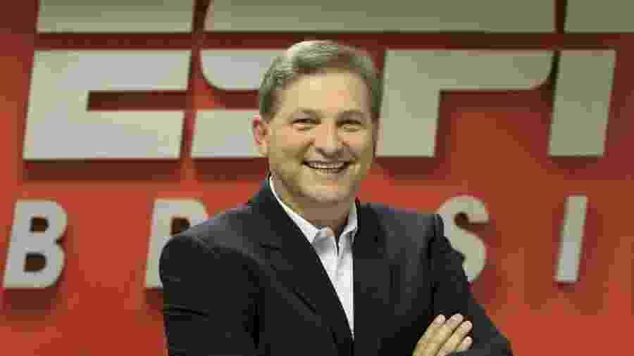 João Palomino, ex-vice-presidente de jornalismo, dispensado ontem pela ESPN Brasil - Divulgação