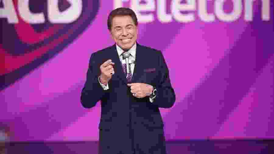 Silvio Santos comanda este ano novamente o Teleton  - Divulgação/SBT